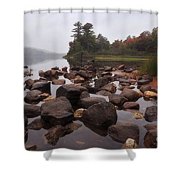 Tranquility 3 Shower Curtain