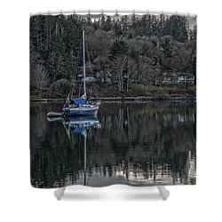 Tranquility 9 Shower Curtain by Timothy Latta