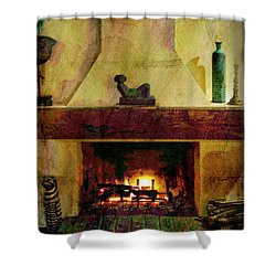 Tranquility Shower Curtain by Al Bourassa