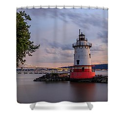 Shower Curtain featuring the photograph Tranquility by Anthony Fields