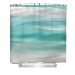 Shower Curtain featuring the photograph Tranquil Turmoil by Az Jackson