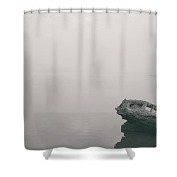 Tranquility By The River Shower Curtain
