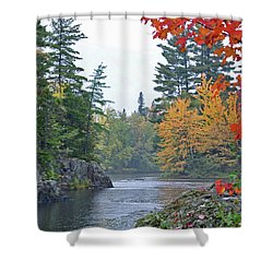 Autumn Tranquility Shower Curtain