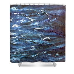 Tranquility Shower Curtain by Holly Anderson