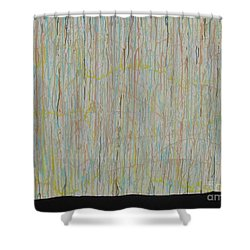 Shower Curtain featuring the painting Tranquility by Jacqueline Athmann