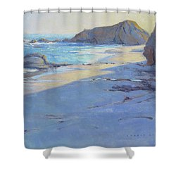 Tranquility Study / Laguna Beach Shower Curtain