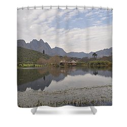 Tranquility Shower Curtain by Linda Ferreira