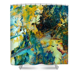 Tranquility Man #307 Shower Curtain by Donald k Hall