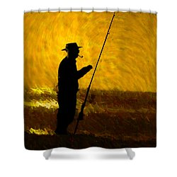 Tranquility Shower Curtain by Paul Wear