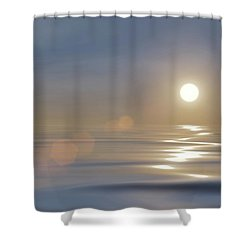 Tranquillity Shower Curtain by Wim Lanclus