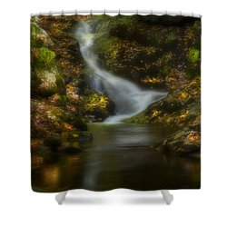 Shower Curtain featuring the photograph Tranquility by Ellen Heaverlo