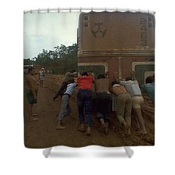 Shower Curtain featuring the photograph Trans Amazonian Highway, Brazil by Travel Pics