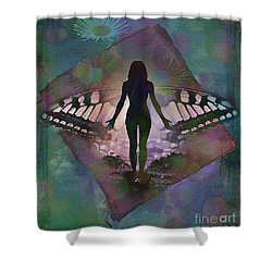 Transcend 2015 Shower Curtain