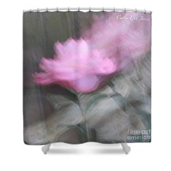 Transcend Shower Curtain by Cathy Dee Janes