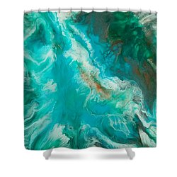 Transcend  Shower Curtain