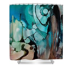 Transcendence Wth Goddess Shower Curtain