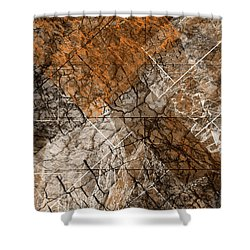 Transfero Transtuli Translatum Shower Curtain by Sir Josef - Social Critic -  Maha Art