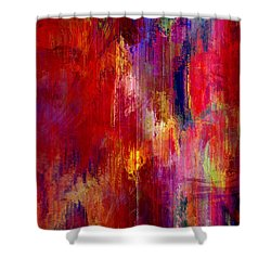 Transition - Abstract Art Shower Curtain by Jaison Cianelli