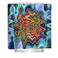 Transition Flow Shower Curtain