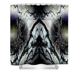 Transitional Leap Shower Curtain