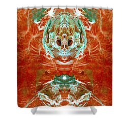 Transitioning Flow Shower Curtain