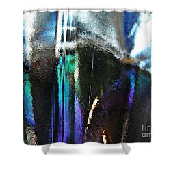 Transparency 4 Shower Curtain by Sarah Loft