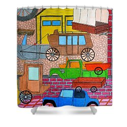 Transport Shower Curtain