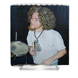 Transported By Music Shower Curtain