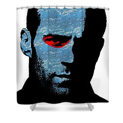 Transporter Shower Curtain by Emme Pons