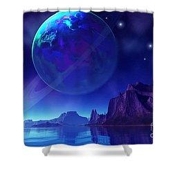 Tranta 3 Shower Curtain by Corey Ford