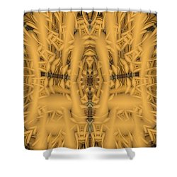 Shrine Shower Curtain