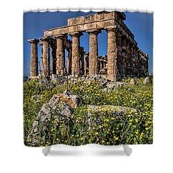 Trapani, Sicily Shower Curtain