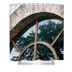 Trapped Tree Shower Curtain