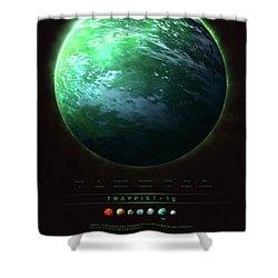 Trappist-1g Shower Curtain