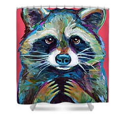 Trash Panda Shower Curtain