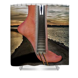 Travel And Adventure Shower Curtain