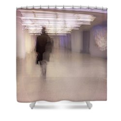 Travel Day Shower Curtain