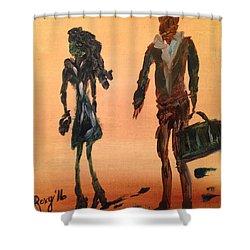 Travelers Shower Curtain
