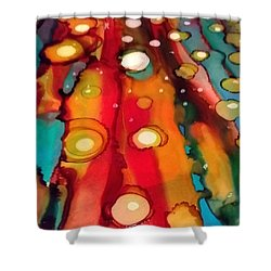Traveling Shower Curtain