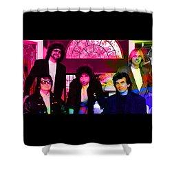 Traveling Wilburys Shower Curtain