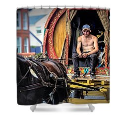 Traveller 1 Shower Curtain by Wallaroo Images