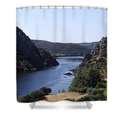 Travelling Through Western Portugal Shower Curtain