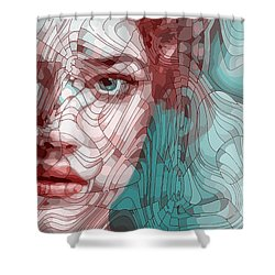 Travelling Wave Shower Curtain