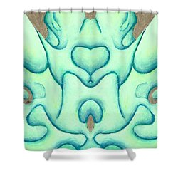 Travels Of The Mind Shower Curtain