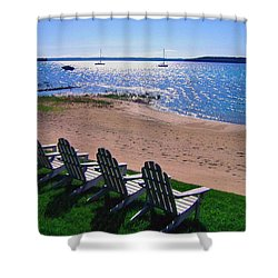 Traverse Bay Reverie Shower Curtain