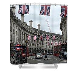 Traversing London Shower Curtain