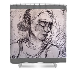 tre Shower Curtain