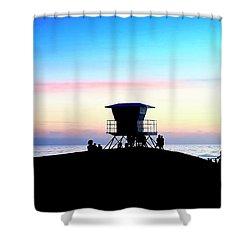 Treasure Coast Florida Sunrise Seascape Paradise 447 Shower Curtain