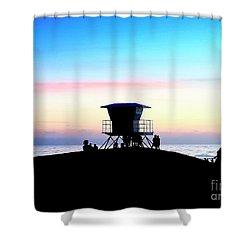 Treasure Coast Florida Sunrise Seascape Paradise 447c Shower Curtain