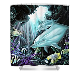 Treasure Hunter Shower Curtain